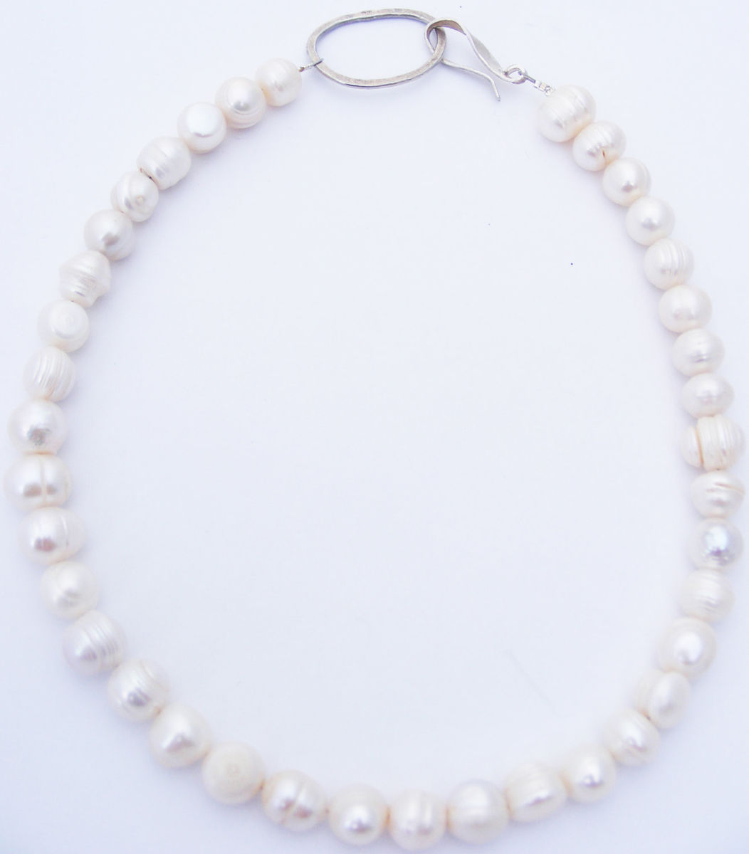 large freshwater pearl necklace - product images  of