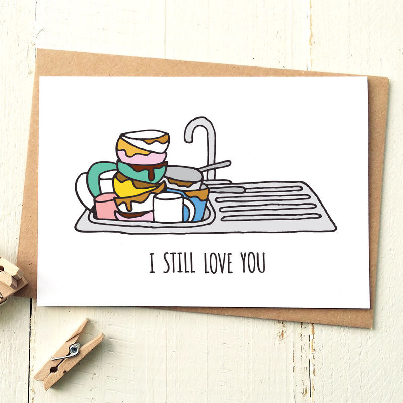 Funny Love Card Boyfriend Card Husband Card Funny Greeting