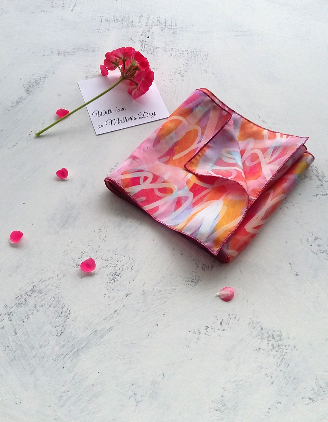 New collection of silk scarves!