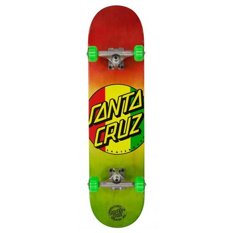Santa,Cruz,Black,Dot,7.7,Full,Size,Complete,Skateboard,Santa Cruz Black Dot 7.7 Full Size Complete Skateboard, complete skateboards in london, best beginner skateboards, skate shop london