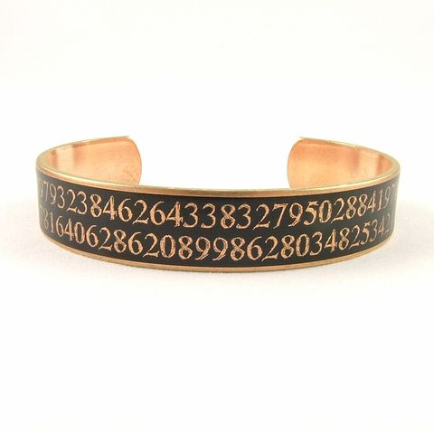 Pi,Skinny,Cuff,Skinny cuff bracelet, science Jewelry,Bracelet,cuff_bracelet,math jewelry, math cuff, geekery, pi quation, square root,biology,doctor,steampunk_cuff,chemistry_jewelry,periodic_table,chemicals_chemistry,doctor_gifts,antiqued_brown,geeky_nerdy_gifts,te