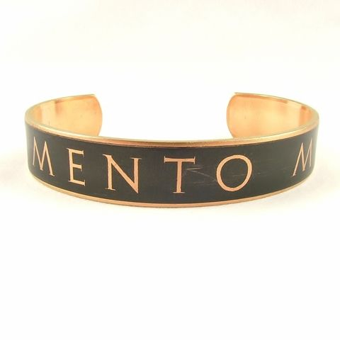 Memento,Mori,Latin,Skinny,Cuff,ovid, latin quote, languages, ancient rome, omnia mutantur, everything changes,, colosseum, latin jewelry