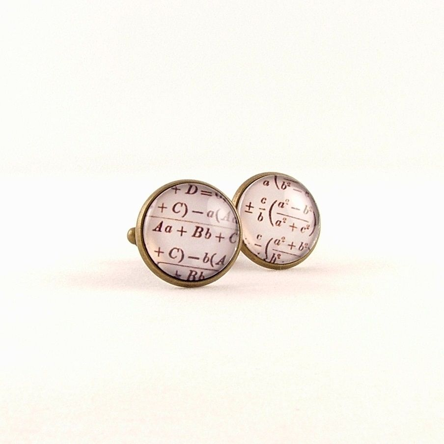 Equations Arithmetic Maths Cuff Links - product images  of