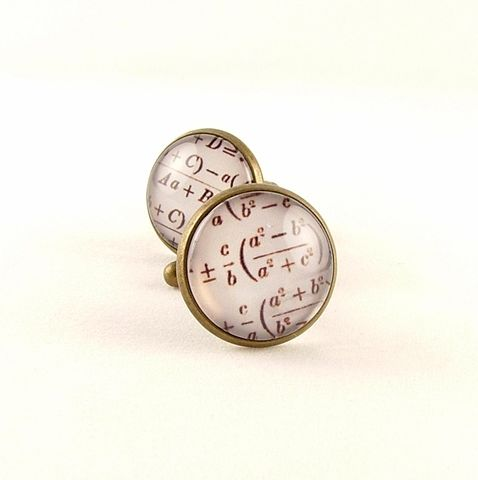 Equations,Arithmetic,Maths,Cuff,Links,Accessories,Cuff_Links,Geekery,cufflinks,cuff_links,cool_gifts_for_men,shakespeare,literary_gifts,english_literature,book_nerd,library_art,literary_quote,groomsman_cuff_links,theater_drama,acting_actor,old_england,brass,art,decoupage,handmade,paper,metal