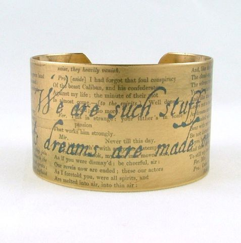 The,Tempest,Cuff,Jewelry,Bracelet,cuff_metal_brass,handmade_art_paper,literature_play_book,theatre_theater,quote_words_saying,british_uk_england,act_scene_actor,drama_tragedy,storm_sea_thunder,exile_island,blue_grey_gray,dream_wish_spell,brass,decoupage,art,handmade
