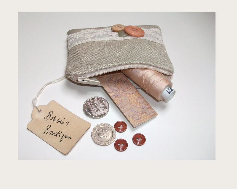 Oatmeal Coin Purse - product image