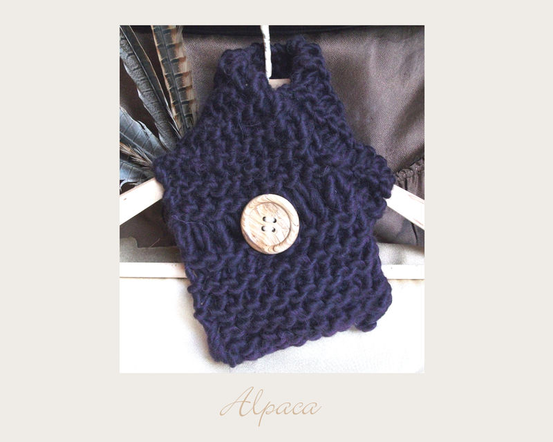 Purple Berry Alpaca Scarf - product images  of 