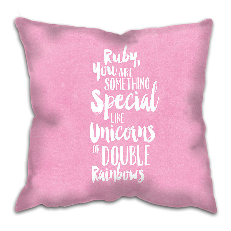 Funny Baby Gifts Uk : Something special cushion custom girl baby gift