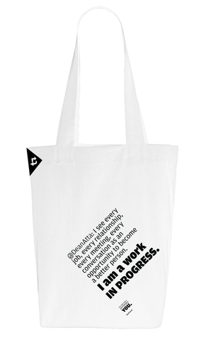 Carry-on,TeeTweet,bag, shopping bag, personalised shopping bag, personalised bag