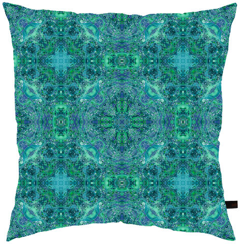 Lagoon,Cushion,cushion, digital print, printed cushion, amy sia cushion, amy sia