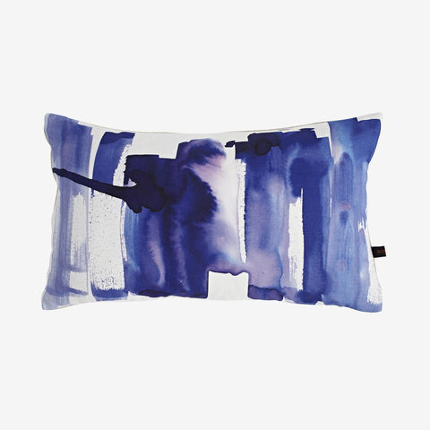 Metropolis,Cushion,purple cushion, digital print, printed cushion, amy sia cushion, amy sia, cushion, watercolour, watercolour cushion, abstract cushion, watercolour abstract cushion, painterly cushion