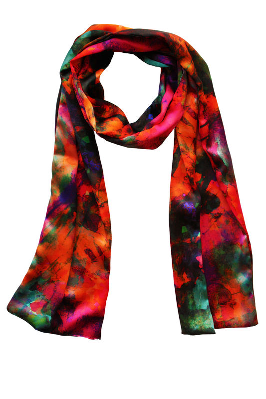 SOLD OUT Firework Silk Scarf - product images  of