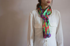 Moving Futures Silk Scarf - product images  of