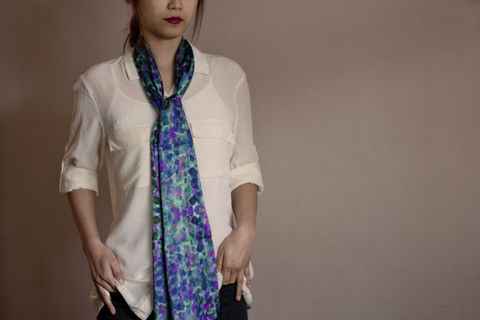 SOLD,OUT,Watercolour,Dream,Silk,Scarf,digitally printed digital print scarves silk scarf luxury designer abstract printed crepe de chine 100% silk ikat watercolour colourful