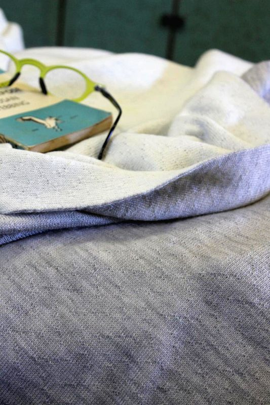 2 tone merino double blanket - product images  of 