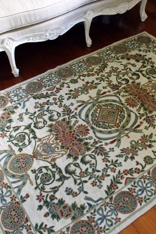 Kashmiri,hand,embroidered,wool,rug,-,french,garden