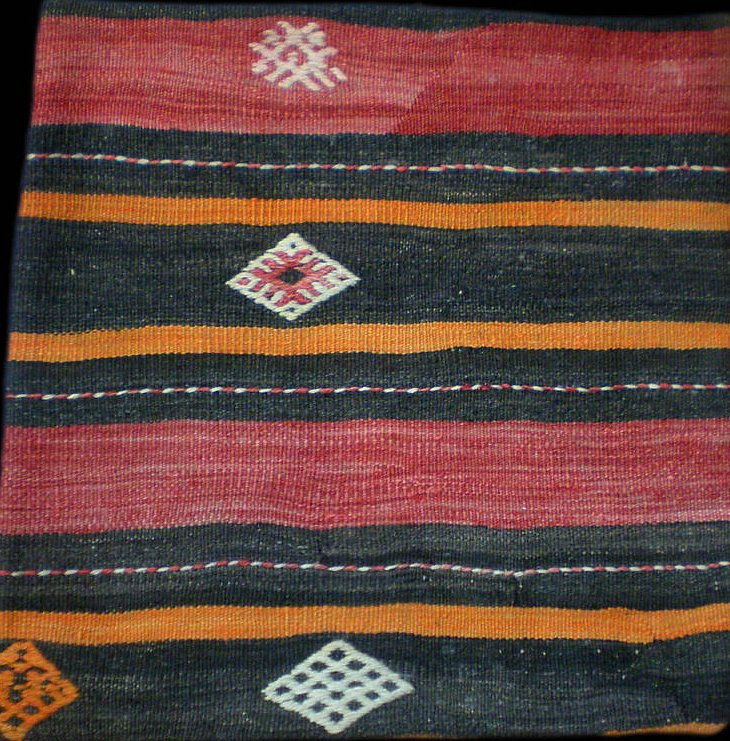 Vintage Turkish Kilim cushion 4 - product images