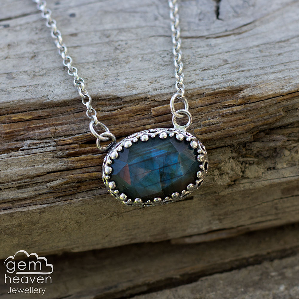 Argante Collection ~ Labradorite pendant - product images  of