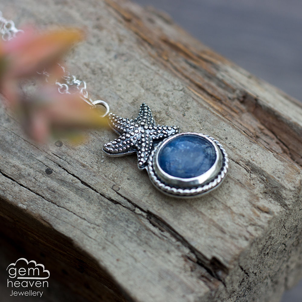 Coastal series Necklace with Kyanite - product images  of