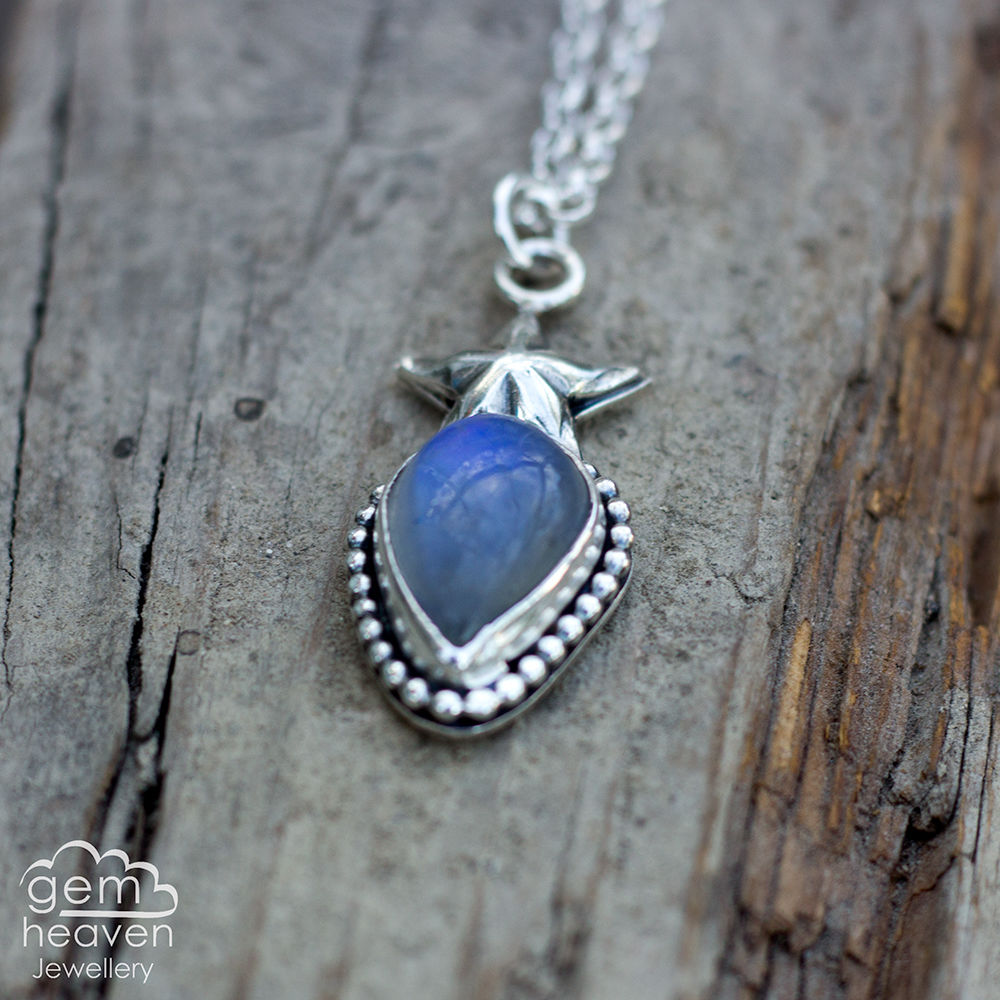 Starlight series Necklace with moonstone - product images  of