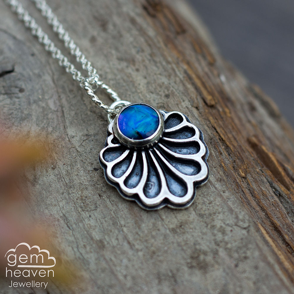 Unfold series Necklace with Paua shell - product images  of