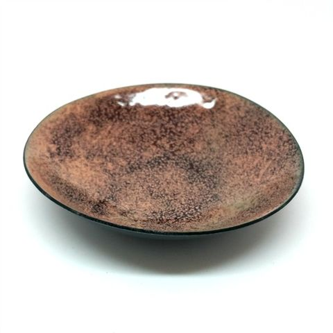 Chocolate,Enamel,Ring,Bowl,ring bowls, ring dishes, enamel ring bowl, MaisyPlum, chocolate ring dish, brown ring bowl, trinket dishes, coin tray, gift for men, gift for the home, home accessories