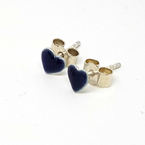 Purple,Enamel,Heart,Ear,Studs,enamel earrings, heart ear studs, heart earrings, enamel heart studs, stud earrings, enameled jewellery, purple heart ear studs, mauve earrings, earrings for teens, silver stud earrings uk, contemporary silver earrings,