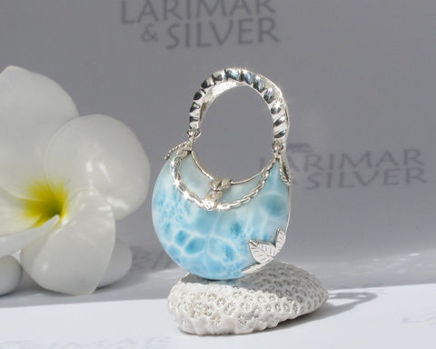 Larimarandsilver,pendant,,Little,Mermaid,Purse,3,-,topaz,blue,Larimar,stone,,purse,,water,blue,,crystal,,handmade,pendant,Jewelry,Necklace,Larimar_pendant,purse_pendant,larimar_jewelry,blue_purse,crystal_blue,water_blue,siren_jewelry,turtleback,aqua_blue,designer_purse,topaz_blue,crystal_purse,blue_bag,925 sterling silver,aka Pectolite,aka Atlantis stone,aka Dolphin