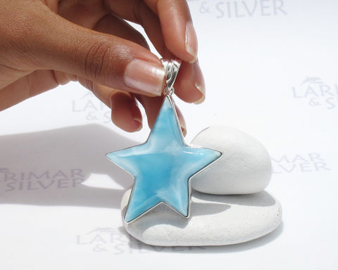 Larimar,star,by,Larimarandsilver,,Mermaid,Star,-,sky,blue,crescent,,topaz,star,,soft,blue,,Swiss,handmade,pendant,Jewelry,Necklace,Larimar_pendant,star_pendant,larimar_star,blue_star,blue_starfish,starfish_pendant,north_star,soft_blue,sky_blue,turtleback,topaz_blue,shooting_star,Larimar_jewelry,925 sterling silver,aka blue pectolite,aka Atlantis stone,aka Dol