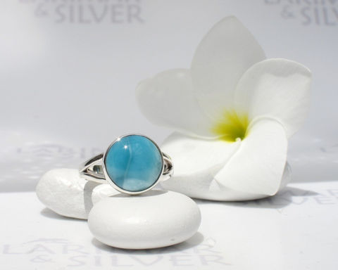 Larimarandsilver,ring,size,6.75,,Abyss,-,deep,blue,Larimar,round,,peacock,blue,,volcanic,silver,,Caribbean,handmade,Jewelry,Ring,Larimar_ring,Larimar_round,larimar_jewelry,peacock_blue_ring,blue_round,mermaid_ring,volcanic_blue,mermaid_circle,abyss_blue,bohemian_blue,sapphire_blue,round_ring,blue_circle,925 sterling silver,aka Pectolite,aka Atlantis stone,aka D