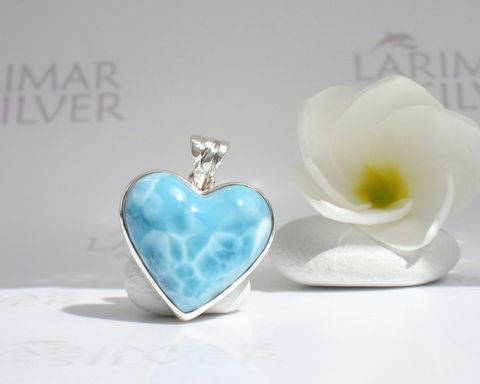 Larimar,heart,pendant,-,Love,of,Water,Larimar stone, heart stone, larimar heart, blue heart, aqua heart, mermaid heart, angel heart, fairy heart, sky blue heart, topaz heart, crystal heart, Swiss blue heart, love stone, blue love, love in the air, river of love, pool pattern, ice blue, amazon