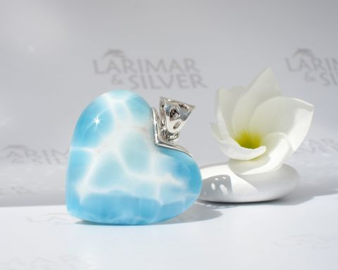 SOLD,OUT,-,Reversible,Larimar,heart,pendant,The,Pure,Soul,of,Aphrodite,Larimar pendant, heart pendant, larimar heart, blue heart, Venus heart, Venus jewelry, Aphrodite pendant, Aprodite heart, topaz blue heart, siren pendant, ocean blue, water heart, waterfall love, Niagara love, love Larimar, turtleback, goddess pendant, se
