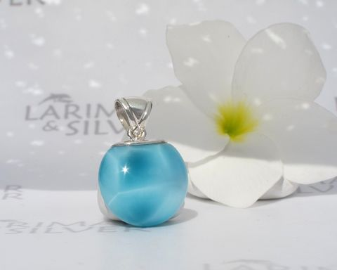 AAA,Larimar,pendant,-,Elixir,of,the,Sea,Authentic,jewelry,.925,silver,turtleback