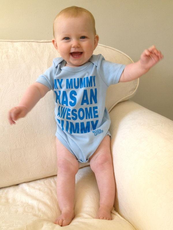 Babygrow - 'Awesome'