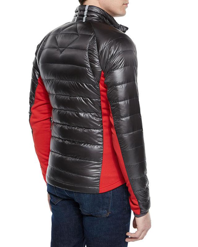 Canada Goose Hybridge Lite Jacket Graphite Demand Attire