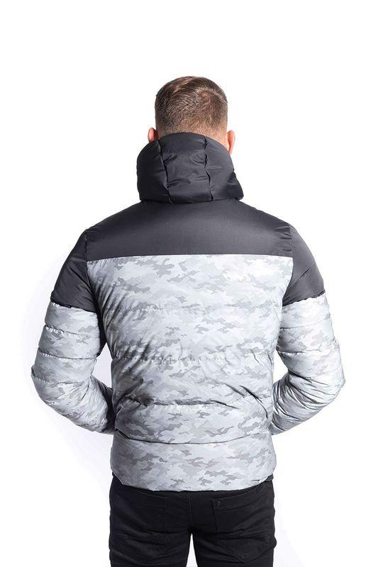 Foray Prism Grey Reflective Camo Jacket Demand Attire