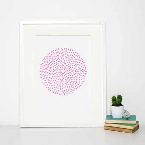 Pink,Circle,Pattern,Art,Print,pink circle print, pink pattern print, surface pattern