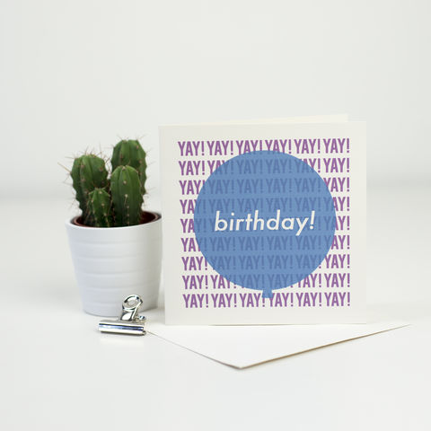Modern,Birthday,Balloon,Card,-,Blue,+,Pink,modern birthday card