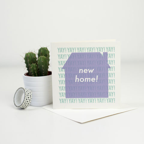 Modern,New,Home,Card,Modern New Home Card, greetings card