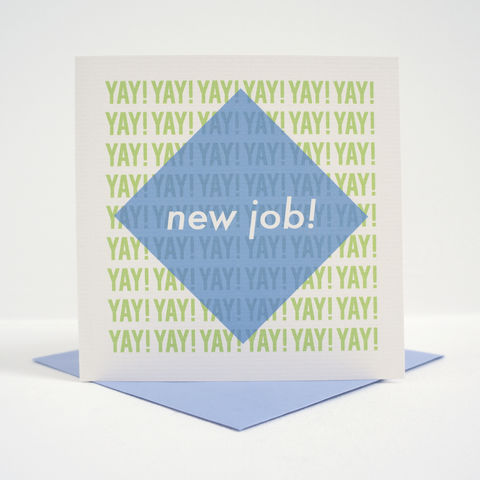 Modern,New,Job,Card,Modern New Job Card, greetings card