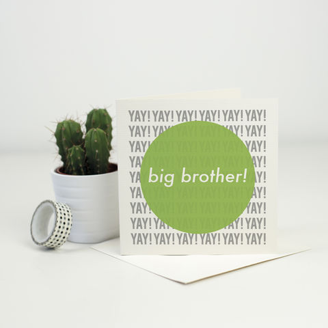 New,Baby,Card,for,a,Big,Brother!,card for new sibling, big brother card, new baby card
