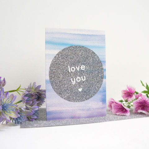 Love,You,Valentine,Card,modern valentine's card, design-led stationery, love you valentine card, love card, romantic card