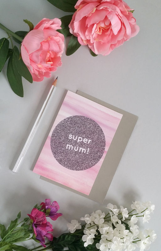 Super Mum Mother's Day Card - product images  of