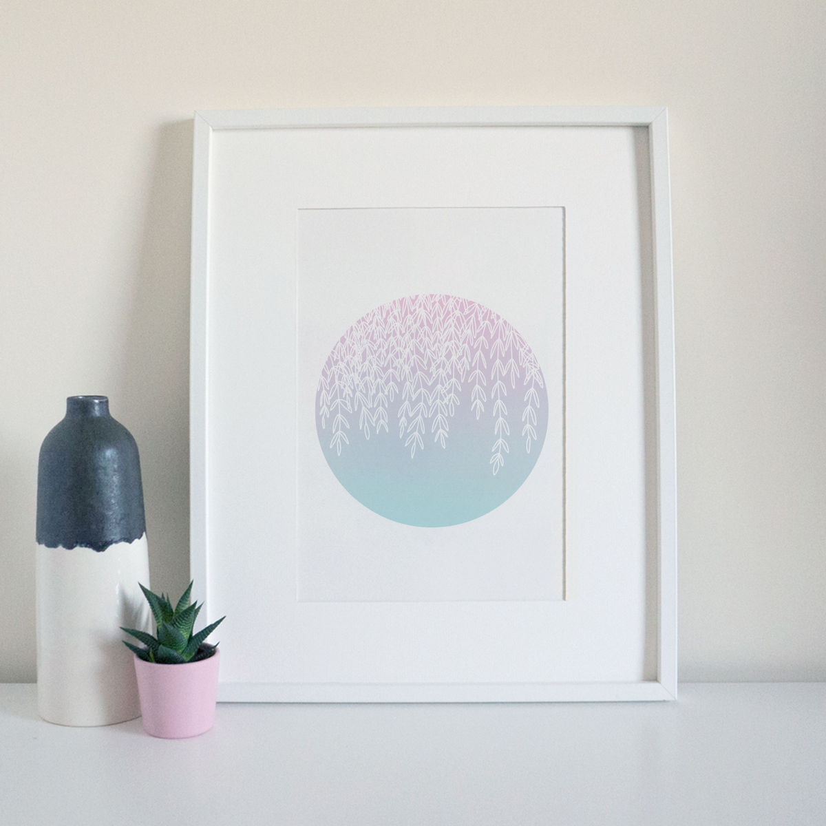 Pastel Foliage Print - product images  of