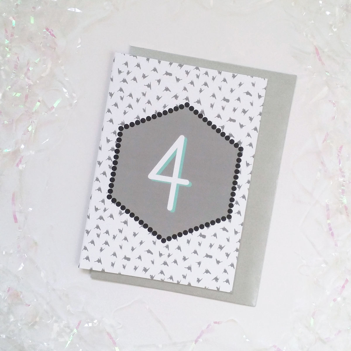 Child's Birthday Age Card - product images  of