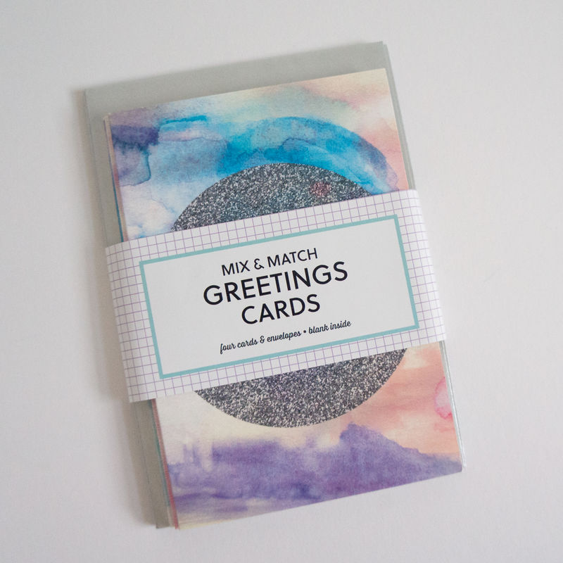 Mix + Match Any 4 Greetings Cards - product images  of