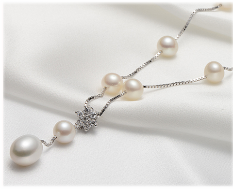 pearl,strand,necklace,freshwater pearl necklace
