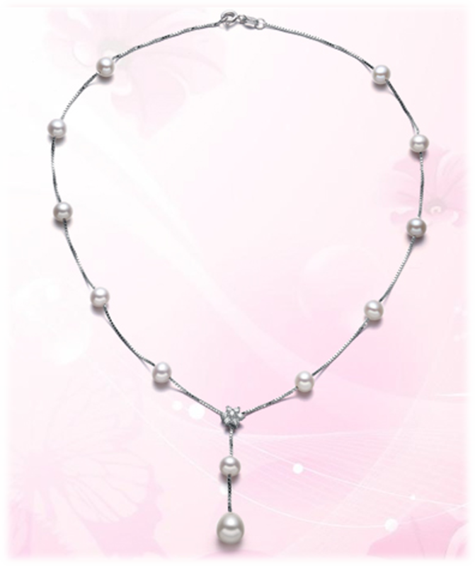 pearl strand necklace - product images  of