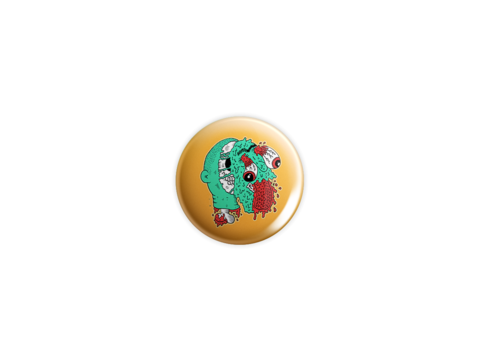 Ugh!,Badge,badge, pin, lowbrow, emo, design, art, illustration, wolfmask, wolfmaskart