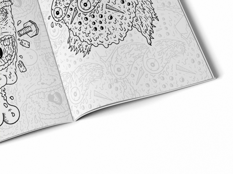 Creepy Colouring Book - product images  of